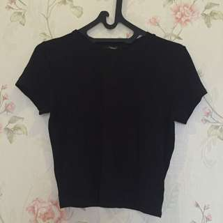F21 Basic Crop Top