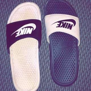 Nike Benasssi Black X White