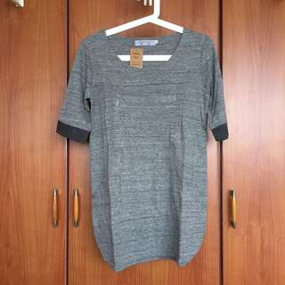 BNWT Grey Nursing Top with concealed zips