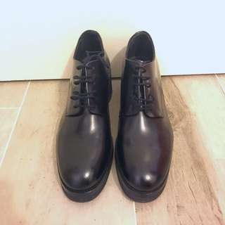 COS Black Leather Boots SIZE 39