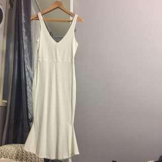 White Kookai Dress Size 1