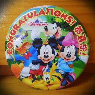 迪士尼 Disney Pin [限量] 週年 記念 徽章 襟章