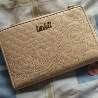 Brand New KATE HILL Oversized Wallet