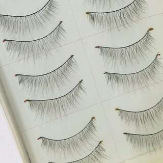 Criss Cross False Lashes (Thin)