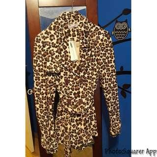 BNWT Leopard Print Coat