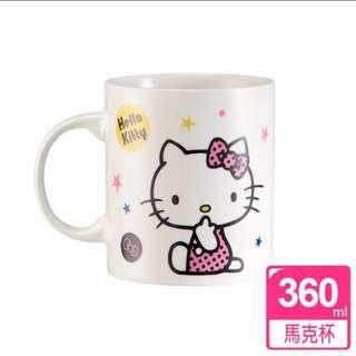🚚 Hellokitty 牛奶馬克杯