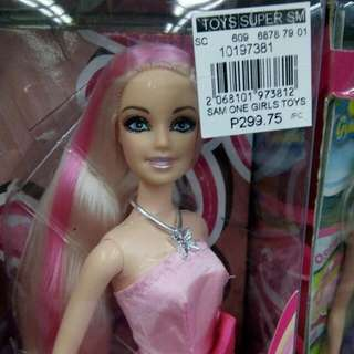 hayley doll long soft hair