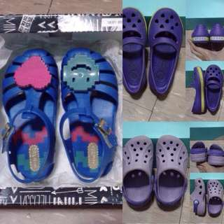 Mini Melissa Aranha V And Crocs For Kids