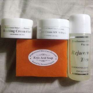 REJUVENATING SET for 200php Only