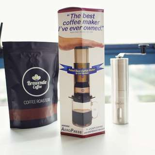 AeroPress Coffee Maker only (the best coffee maker) Free 350 Paper Filters