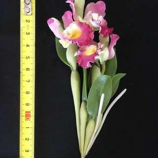 Mini Clay Orchids