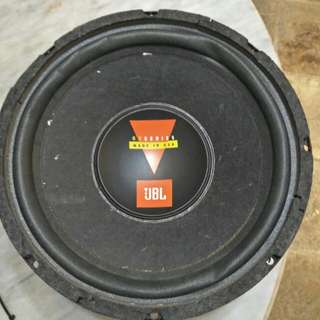 "Selling This Original Made In USA JBL 10"" Subwoofer . Solid Bass Sound"