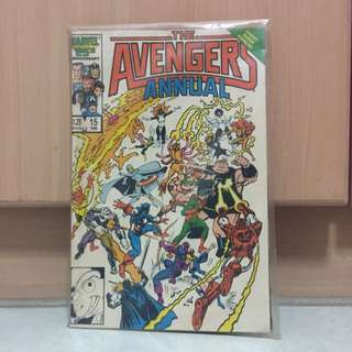 Marvel 25th Anniversary : The Avengers Annual