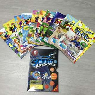 Set Of 10 Issues Science Adventures Level 3