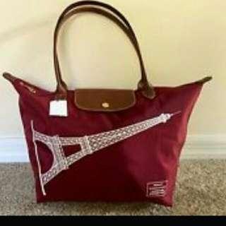 Brand New Long Champ Eiffel Tower Bag