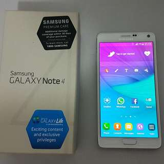 (RESERVED Till 12 Dec 745pm) Samsung Galaxy Note 4