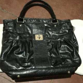 Handbag Hitam No Brand