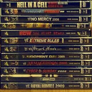 WWE dvd