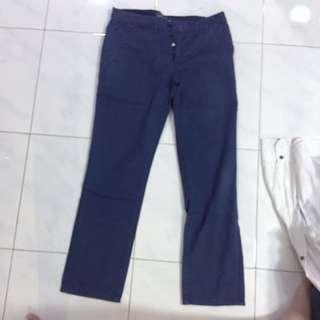 navy jeans topman