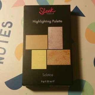 Sleek Makeup Highlighting Palette Solstice