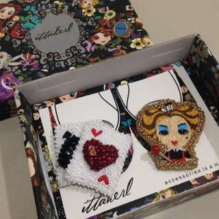 IttaHerl Blindbox Clip Queen Heart