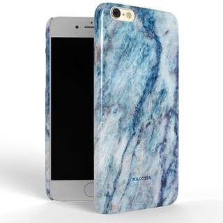 英國MADOTTA 大理石手機殼 - 冰晶藍 I Phone 6s plus