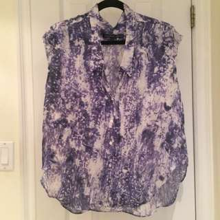 Theory Silk Blouse