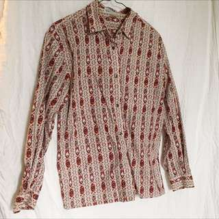Vintage Button Up Shirt