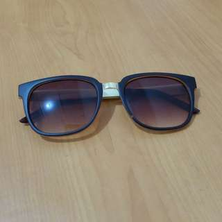Sunglassess Gold-Dark Brown