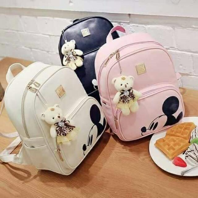 🎀3-in-1 Mickey Mouse Bag🎀