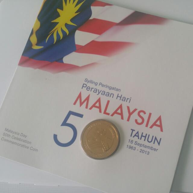MALAYSIA 2013 50TH ANNIVERSARY OF THE FORMATION OF MALAYSIA NORDIC GOLD B.U