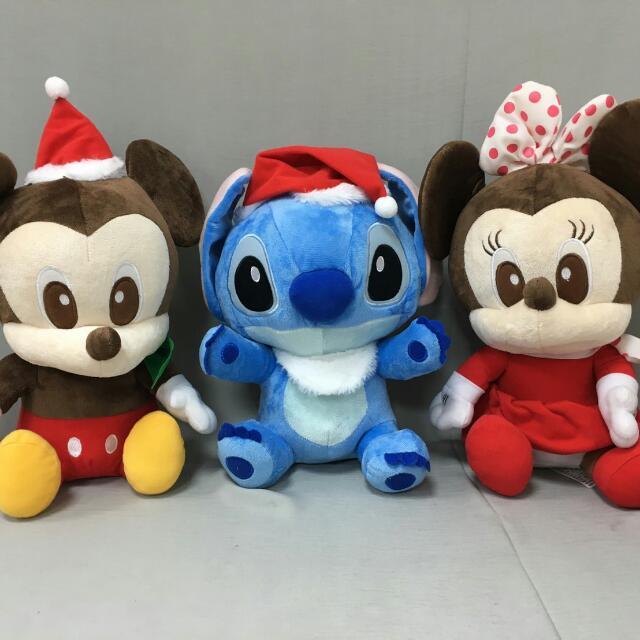 日本版-迪士尼系列聖誕娃娃