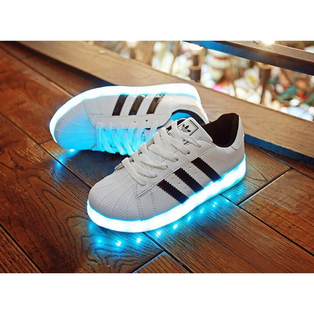 Superstar Superstar Shoes Adidas Adidas 354qcalrj Led Led PkiXZu