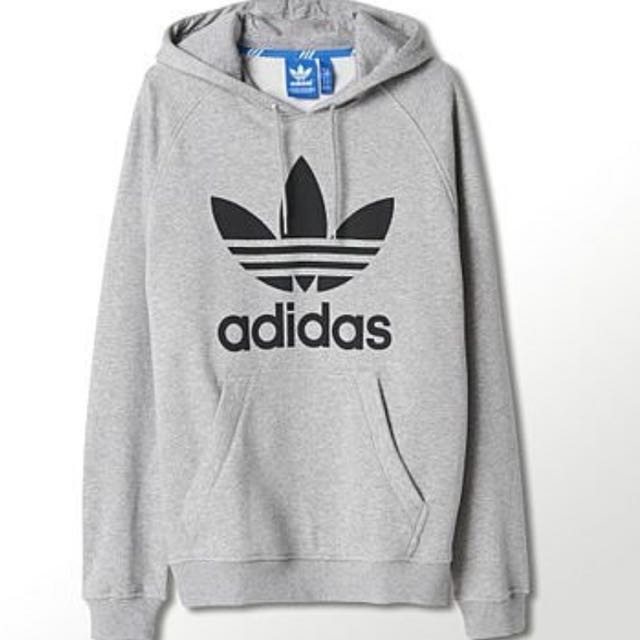 二手正品-adidas三葉草帽T L號