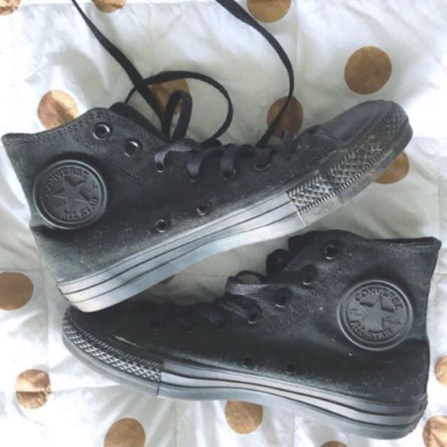 PENDING All Star Black Converse