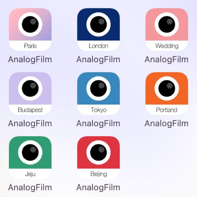 Analog film 8款模擬系列濾鏡