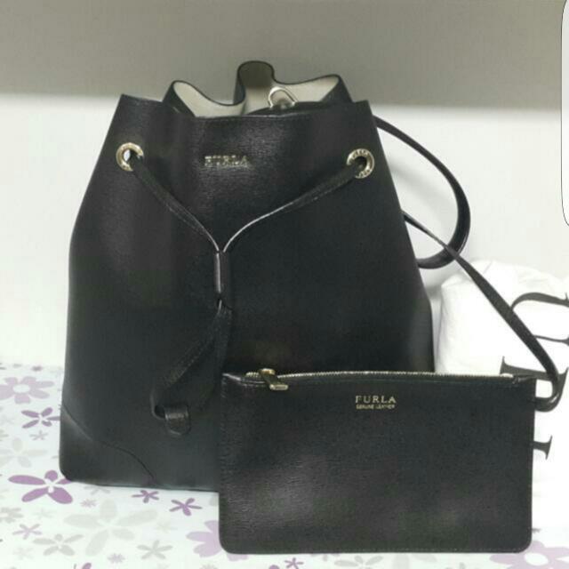 [Authentic] Furla Stacy Bucket Bag