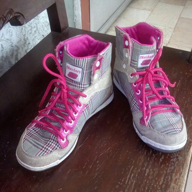 Sale @1500! 👟 Authentic Skechers Hi Cut Shoes
