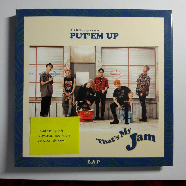 B.A.P 5th Single Album Put'em Up
