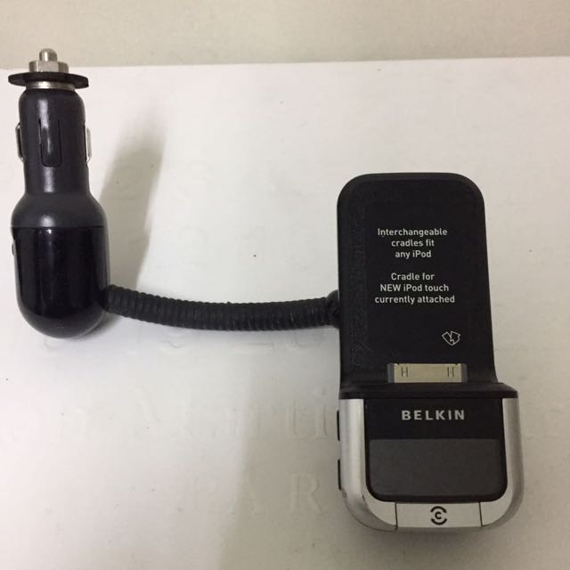 Belkin iPhone 4/4s iPod Car Charger 📲