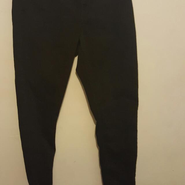 Black Stretch Skinny Jeans Size 14