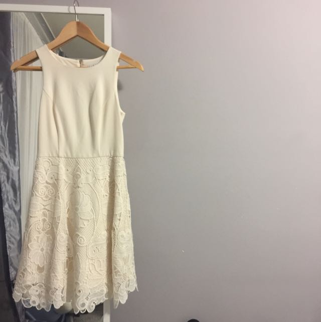 Bnwt White Forever New Dress