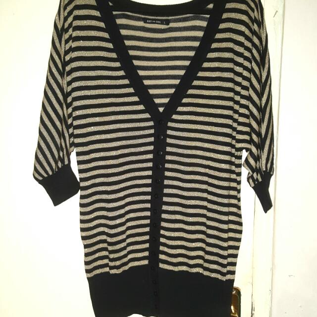 Body&soul Strips Cardigan