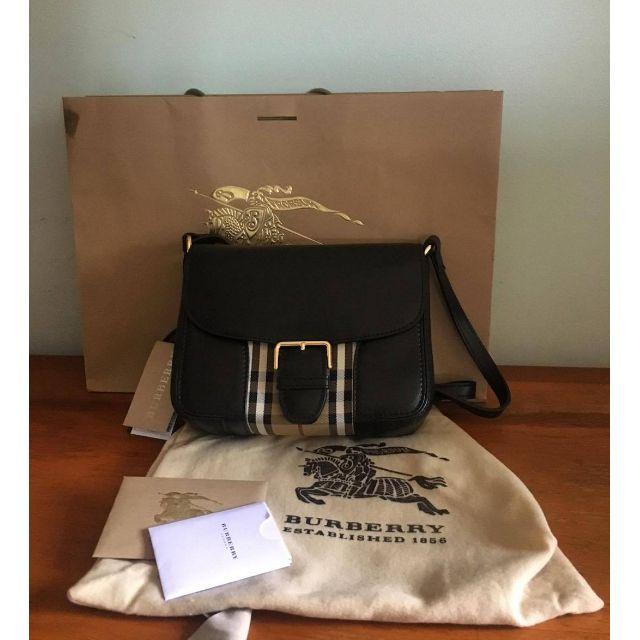 Burberry Horseferry Dickens Messenger Crossbody Bag