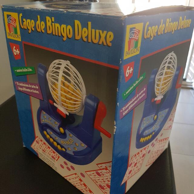 Cage December Bingo Deluxe