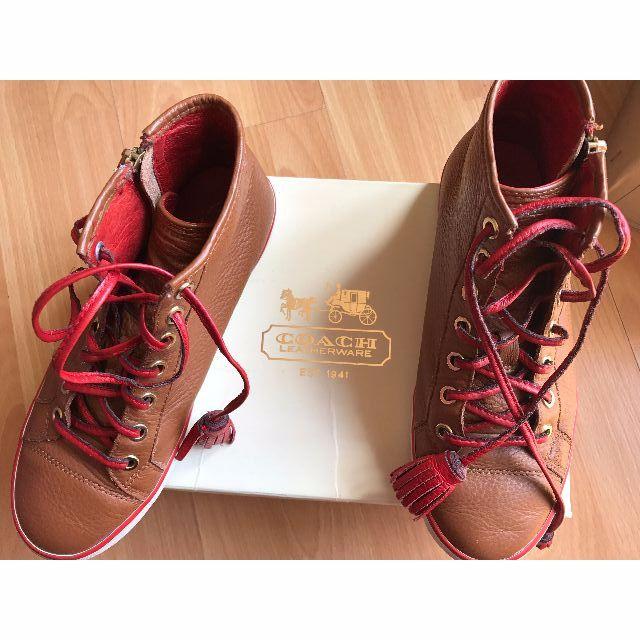 Coach Hi-Top Sneakers SIZE 38