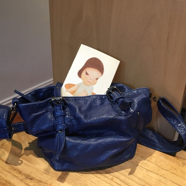 Dark Blue Hand Bag