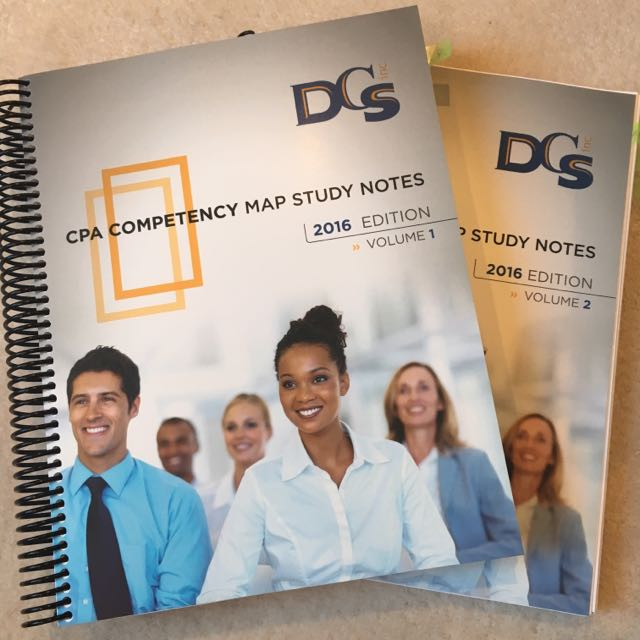 Densmore CPA Competency Map Study Notes 2016 Edition