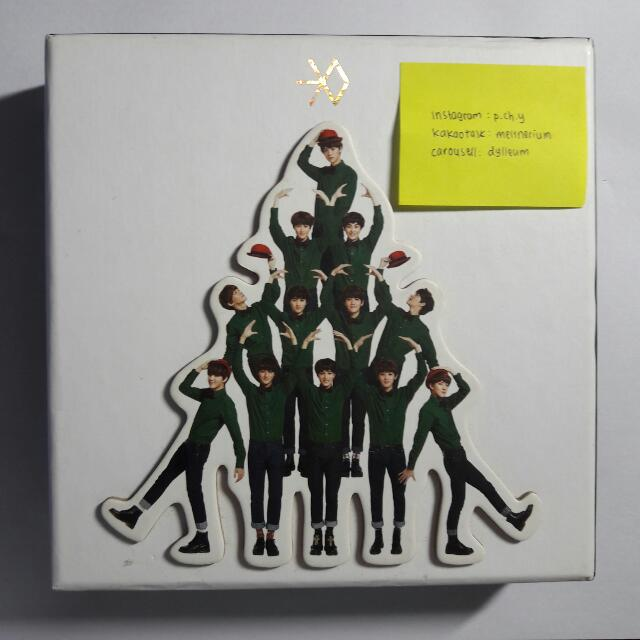 EXO Miracle In December Album Korean Version