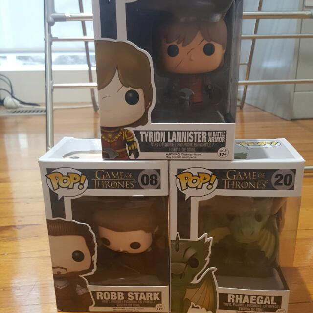 Game Of Thrones Pop Figures